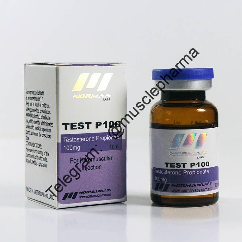 TEST P100 (NORMAN LABS). 100mg/ml 10ml * 1 флакон