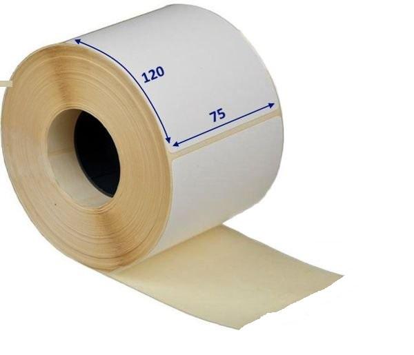 Термоэтикетка 75х120 мм (300 шт/рул) ЭКО для OZON