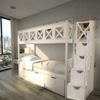 Кровать двухъярусная Прованс Factory №7А