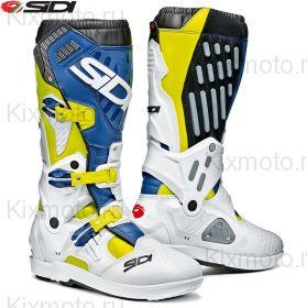 Ботинки Sidi Atojo SRS, Бело-сине-желтые