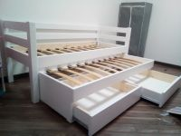 Кровать двухъярусная выкатная Меган №3W, любые размеры