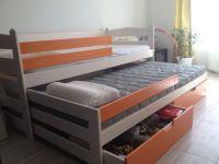 Кровать двухъярусная выкатная Меган №4W, любые размеры