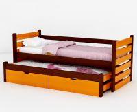 Кровать двухъярусная выкатная Меган №7W, любые размеры