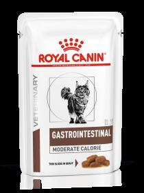 Роял канин Гастроинтестинал Модерат калори пауч (Gastrointestinal Moderate Calorie) 85г.