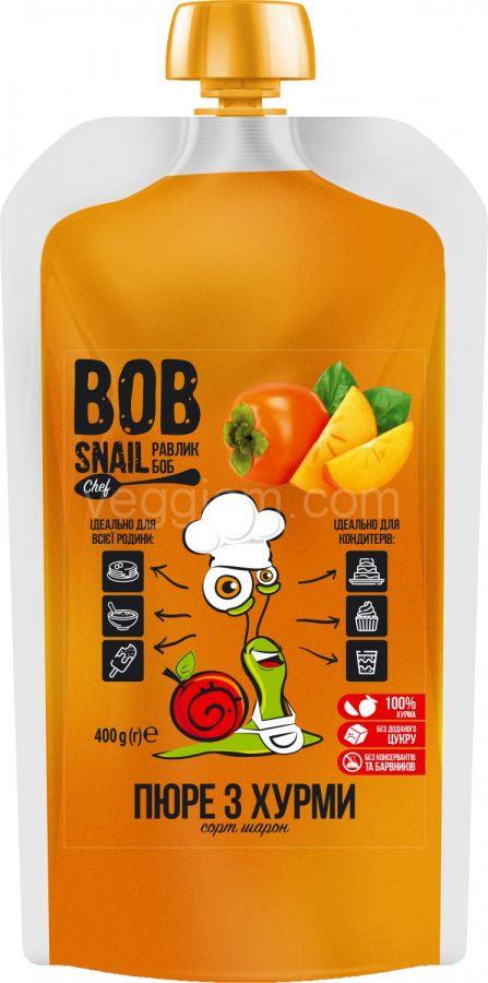 Натуральное пюре с хурмы Bob Snail,400 грамм