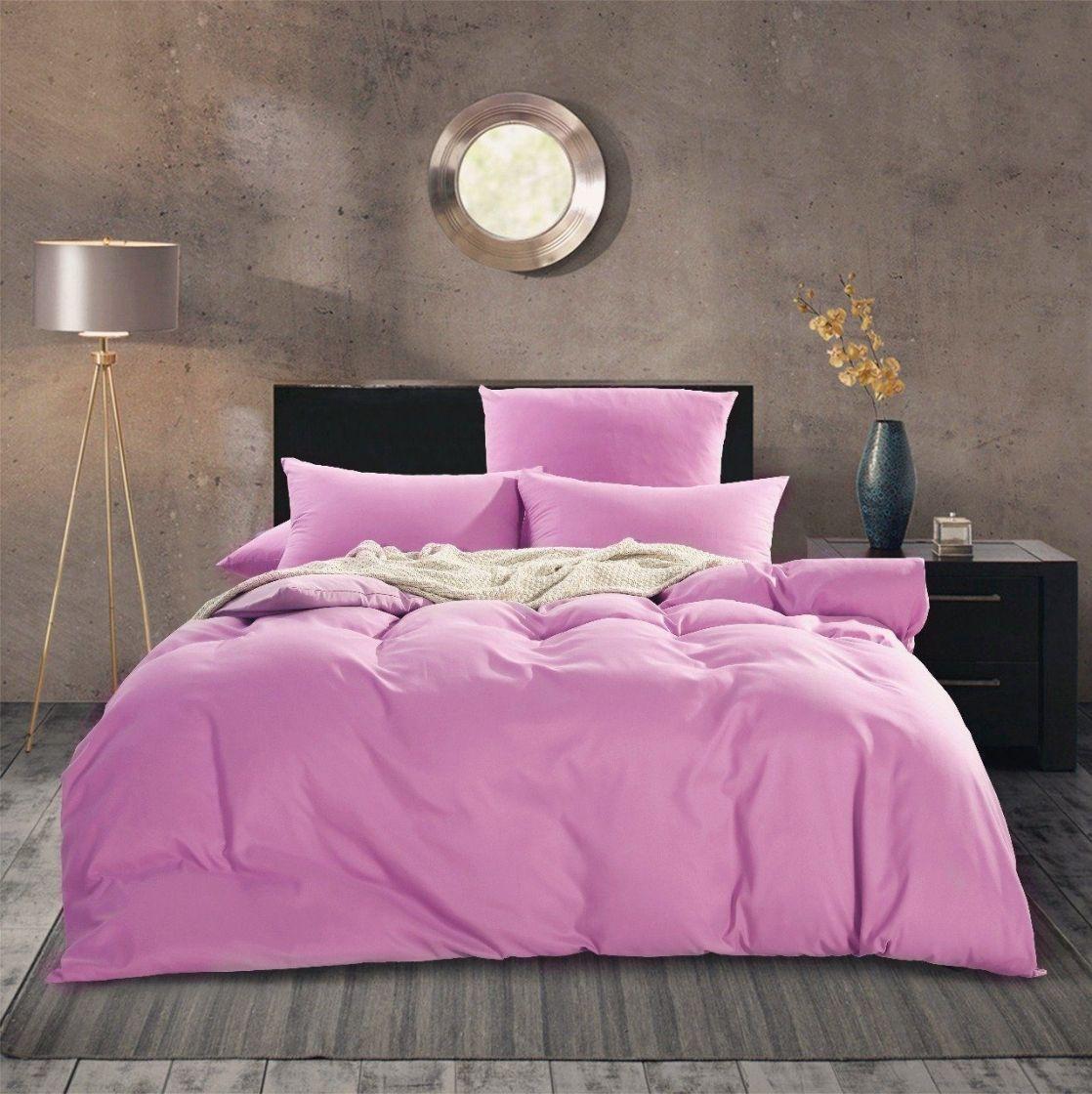 Комплект 2 спальный постельного белья однотонный Сатин CS019