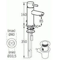 Смеситель Jado Geometry для раковины F1269A