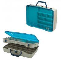 Рыболовный ящик для летней рыбалки Plano 1155 двухуровневый с прозрачной крышкой