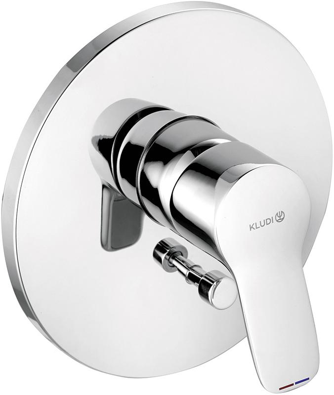 Kludi Pure&Easy смеситель для ванны и душа 376500565