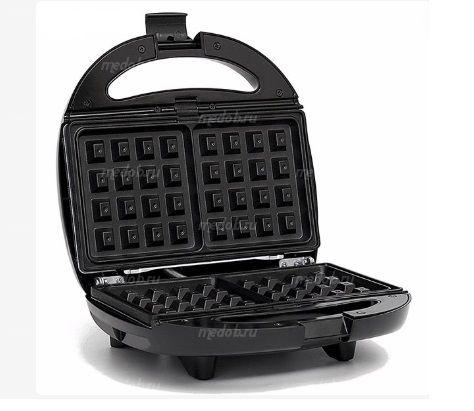 Сэндвич-вафельница 2in1 Haeger HG-205 800W (сталь-черный)