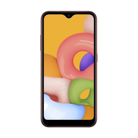 Samsung Galaxy A01 (красный)
