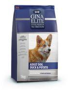 GINA Elite Dog Adult Duck & Potato Сухой корм для собак (утка и картофель) 15 кг