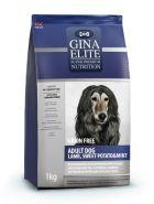 GINA Elite Dog GF Adult Lamb, Sweet Potato & Mint Полнорационный беззерновой корм с ягненком и мятой для взрослых собак. 1 кг