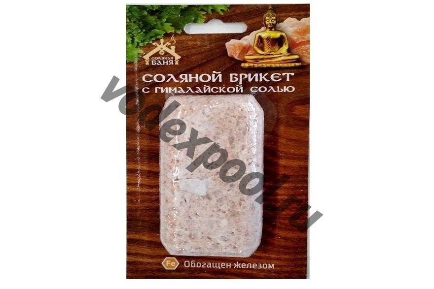 Соляной брикет «Соляная баня с гималайской солью» мини 0,2кг