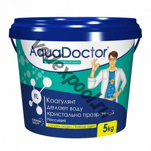 Коагулирующее средство в гранулах AquaDoctor FL 1 кг.