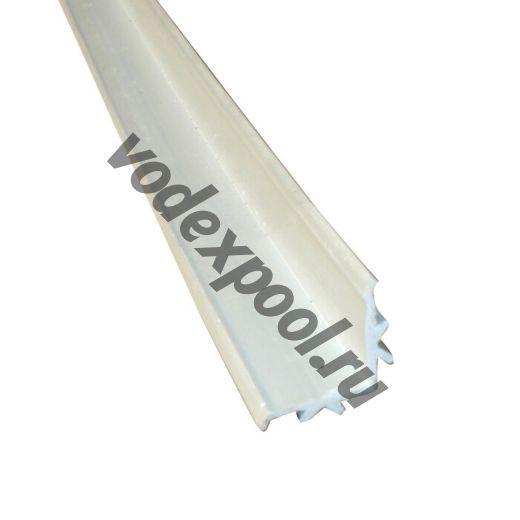 L профиль для переливной решетки Aquaviva Classik и Grift 2м х 25 мм