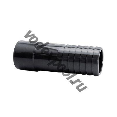 Штуцер клеевой ПВХ Coraplax d50-40 PN16 (38-32)