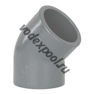 Угольник 45 градусов Coraplax (д. 90 мм)