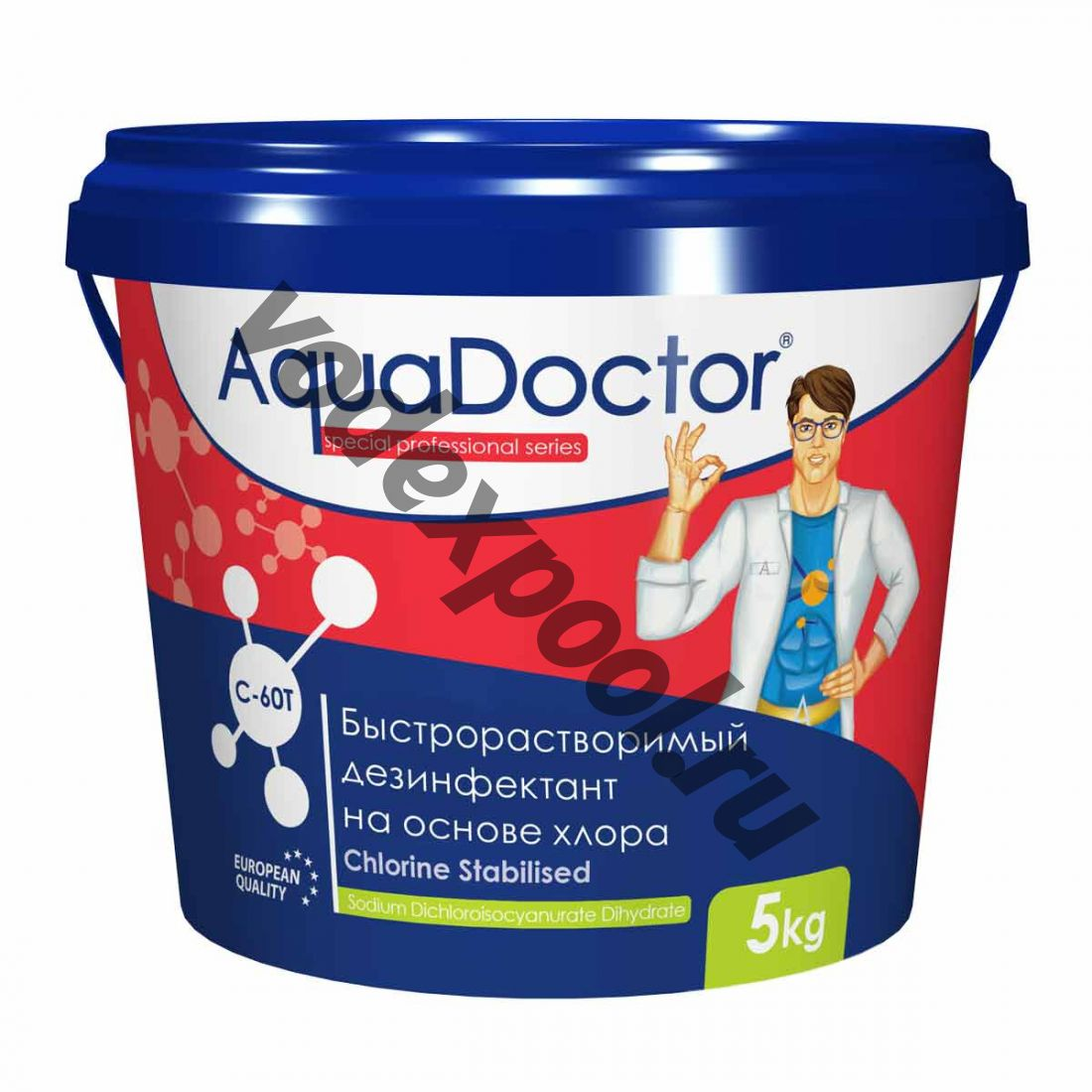 AquaDoctor C-60T 1 кг в таблетках 20 гр