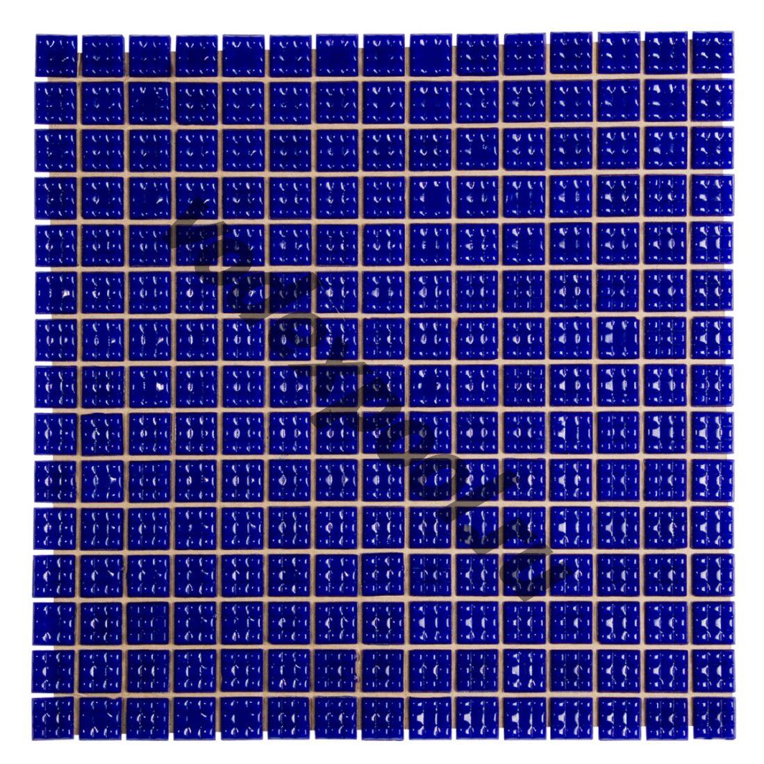 Мозаика стеклянная Aquaviva кобальт С63N(5)