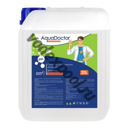 Средство жидкое для снижения pH AquaDoctor pH Minus 20 л.