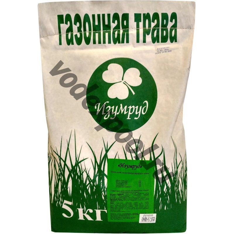 """Газонная травосмесь """"Коттедж"""" (Изумруд), 5 кг."""