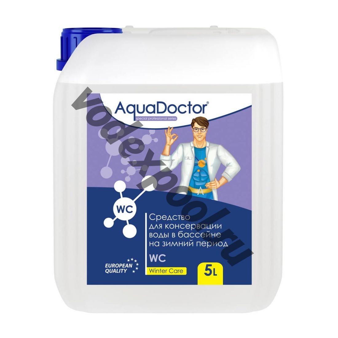 Средство для зимней консервации бассейна AquaDoctor Winter Care 5 л.