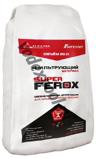 Загрузка обезжелезивания SuperFerox (20 л, 25 кг)