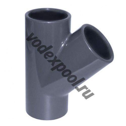 Тройник 45 градусов Coraplax (д. 110 мм)