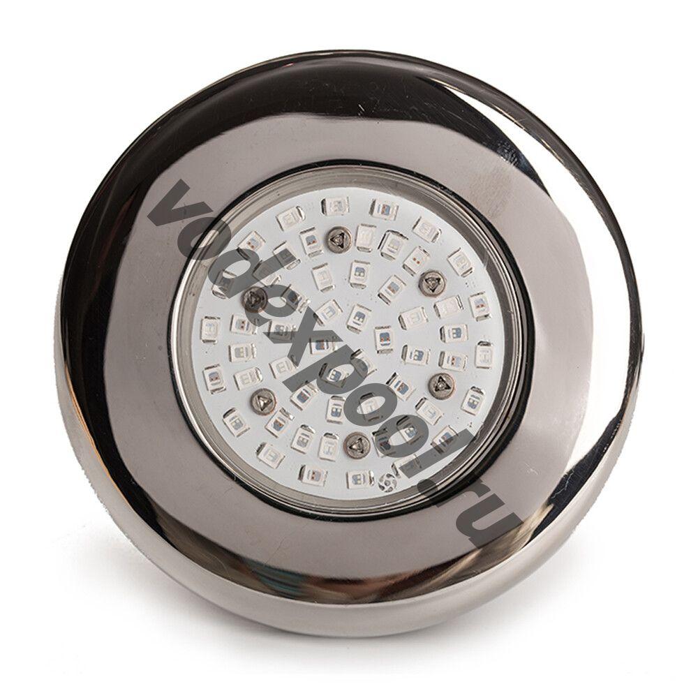 Прожектор светодиодный AquaViva LED203 54LED (5Вт) RGB, стальной