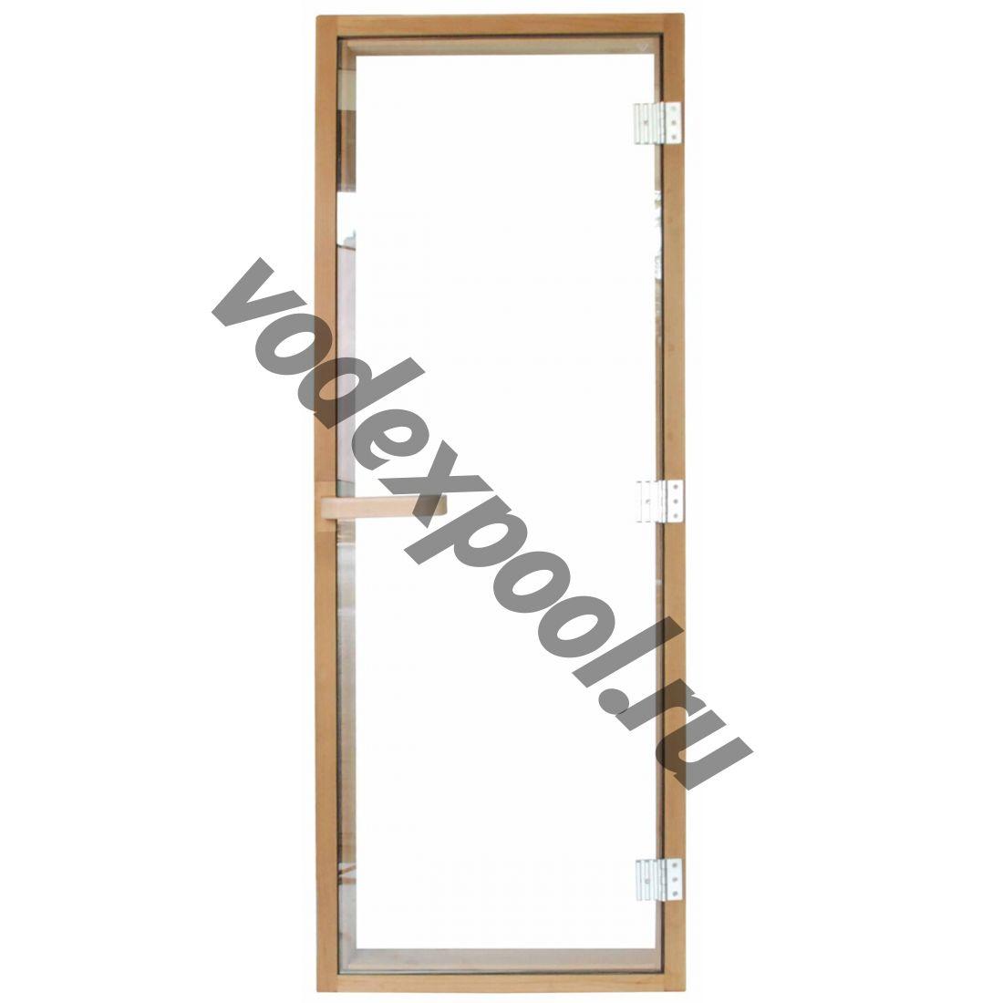 Дверь для сауны 1890х690 (6мм) правая