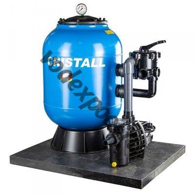 Фильтр Behncke Cristall D400 (6m3/h, 400mm, 50kg, бок)