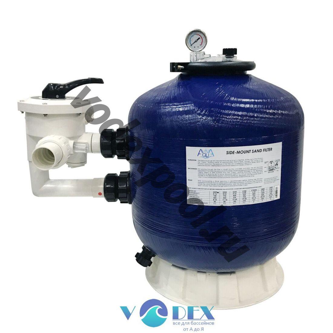 Фильтр Aquaviva S700 (19 м3/ч, D710)