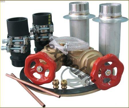 Обвязка противотока (универсал.) (78 мЗ/ч 380В 4.0 кВт) JET-SWIM 2000 Pahlen (1302020)