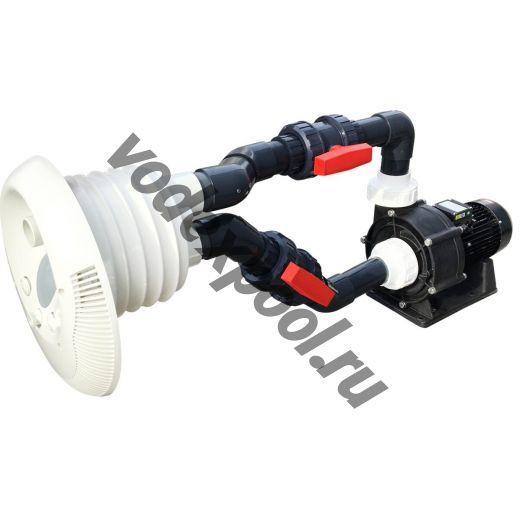 Противоток AquaViva WTB400T 80 м3/ч (380В) под бетон/лайнер