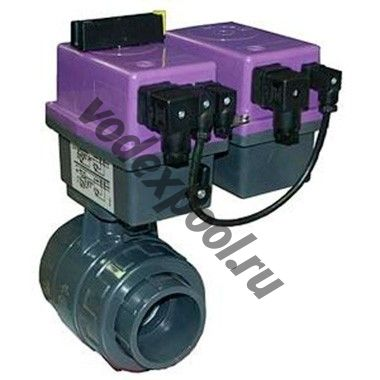 Вентиль с эл.приводом с блоком аварийного закрытия RO, R1 Coraplax (д. 90мм, 220В)