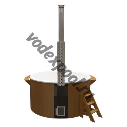 Купель круглая Aquaviva Элит KFE220 с печью