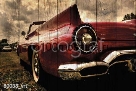 80038 Картина на досках серия RETRO