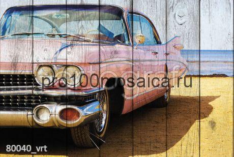 80040 Картина на досках серия RETRO