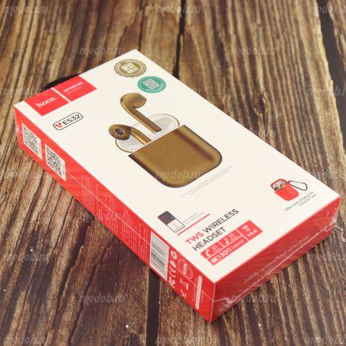 Bluetooth стерео гарнитура HOCO ES32 (Gold)
