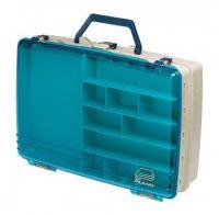 Рыболовный ящик для летней рыбалки Plano 1155 двухуровневый с прозрачной крышкой фото2