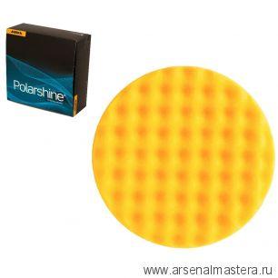 Желтый рельефный поролоновый полировальный диск Mirka 150 мм (2шт в уп) 7993415021