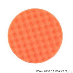Оранжевый рельефный поролоновый полировальный диск Mirka 150 х 25 мм 2шт 7993615021