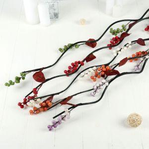 Декор тинги 150 см ягодки капля (цена за 1 шт.), микс