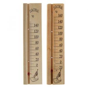 """Деревянный термометр для бани и сауны """"Sauna"""" в пакете 2545536"""