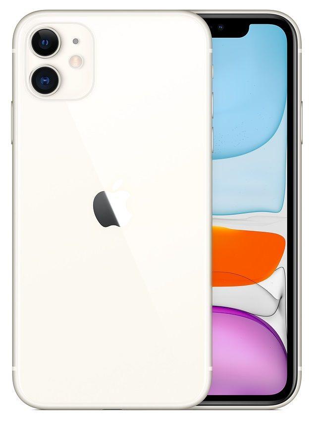 Смартфон Apple iPhone 11 128Gb (White)
