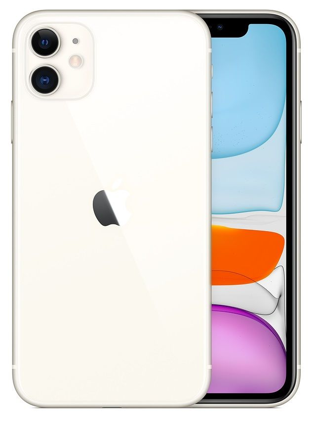 Смартфон Apple iPhone 11 128Gb (White)