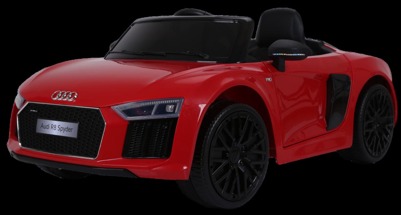 Детский электромобиль (2020) AUDI R8 JJ2198 (12V, колесо EVA, экокожа)