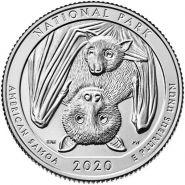 51 ПАРК США - 25 центов 2020 год, Национальный Парк Самоа