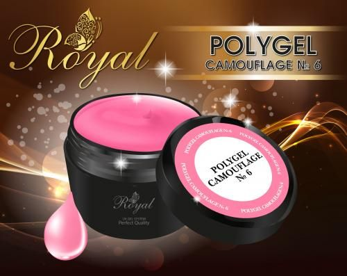 ACRYL GEL CAMOUFLAGE № 06 ROYAL
